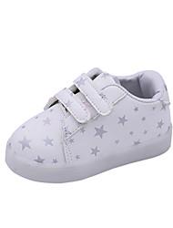 Poikien   Tyttöjen Kengät Tekonahka 봄   Syksy Comfort   Välkkyvät kengät  Lenkkitossut varten Lapset Valkoinen   Musta   Pinkki c6f1b10369