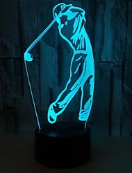 povoljno -1pc LED noćno svjetlo Gumb Baterija pogonjena Kreativan 5 V