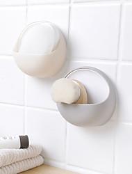 Недорогие -ПВХ Круглый Творчество / Новый дизайн / обожаемый Главная организация, 1шт Коробки для хранения / Единицы хранения / Наборы для ванной комнаты