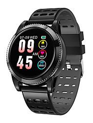 Недорогие -M11 Мужчины Смарт Часы Android iOS Bluetooth Smart Спорт Водонепроницаемый Пульсомер Измерение кровяного давления / Сенсорный экран / Израсходовано калорий / Длительное время ожидания / Секундомер