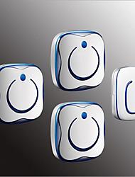 Недорогие -Беспроводное От одного до трех дверных звонков Музыка / Дзынь-дзынь Невизуальные дверной звонок Крепеж на поверхности