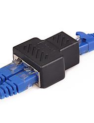 Недорогие -От 1 до 2 способов сетевой кабель локальной сети адаптер RJ45 - RJ45 женский - гнездовой адаптер разъема