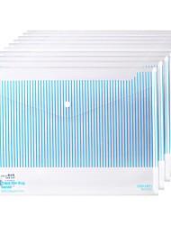 Недорогие -10 pcs deli 5630 Папки файлов A4 PP Прозрачный Custom Label