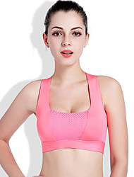 cheap -Women's EU / US Size Sexy Full Coverage Bras Sports Bras Solid Colored Polyester