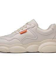 Χαμηλού Κόστους -Ανδρικά Παπούτσια άνεσης Μικροΐνα Καλοκαίρι Αθλητικά Παπούτσια Τρέξιμο Λευκό / Μαύρο / Μπεζ