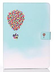 Недорогие -Кейс для Назначение Apple iPad Mini 5 / iPad New Air (2019) / iPad Mini 3/2/1 Кошелек / Бумажник для карт / со стендом Чехол Воздушные шары Твердый Кожа PU
