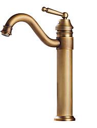 Χαμηλού Κόστους -Μπάνιο βρύση νεροχύτη - Εκτεταμένο Γαλβανισμένο Άλλο Ενιαία Χειριστείτε μια τρύπαBath Taps