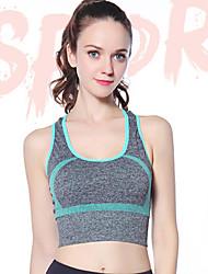 cheap -Women's EU / US Size Sexy Full Coverage Bras Sports Bras Color Block Nylon