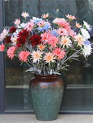abordables -Fleurs artificielles 1 Une succursale Classique Elégant Moderne contemporain Marguerites Fleur de Table