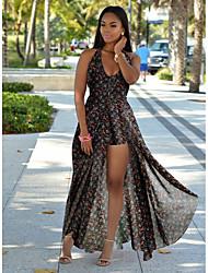 저렴한 -여성용 세트 - 플로럴 드레스