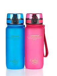 Недорогие -UZSPACE® 0.65 L PP / ПК / Пищевые материалы чайник / Бутылки для воды Портативные, Cool для Путешествия / Катание вне трассы / На открытом воздухе
