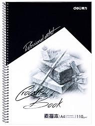 Недорогие -1 пак deli 7698-C Sketchbook 40 простыни A4