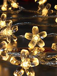 povoljno -10m Žice sa svjetlima 100 LED diode Toplo bijelo Ukrasno 220-240 V 1set