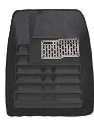 Недорогие -универсальный авто коврик автомобильный коврик передний и задний водонепроницаемый под всепогодный