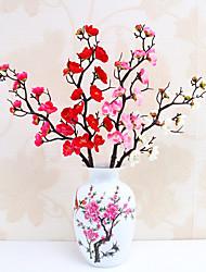 abordables -Fleurs artificielles 5 Une succursale Classique Elégant Moderne contemporain Prune Fleur de Table