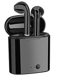 ieftine -JSJ i7S În ureche Wireless Căști Căști Plastic Telefon mobil Cască Cu Microfon Setul cu cască