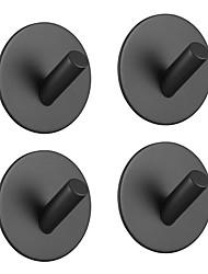 Недорогие -Набор аксессуаров для ванной / Держатель для полотенец / Крючок для халата Самоклеющиеся Нержавеющая сталь 4шт - Ванная комната Односпальный комплект (Ш 150 x Д 200 см) На стену