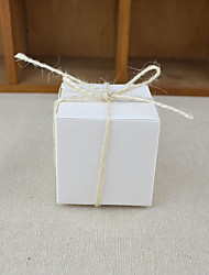 Недорогие -Кубик Крафт-бумага Фавор держатель с Ленты Подарочные коробки - 100шт