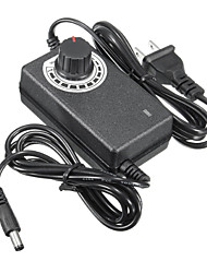 abordables -1pc Accessoire de feuillard / avec connecteur DC Plastique Adaptateur d'alimentation 24 W
