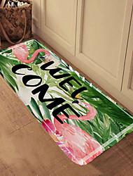 abordables -1pc Dessin Animé / Moderne Tapis Anti-Dérapants Corail Velve Animal / A Fleur 5mm Salle de Bain Antidérapant / Adorable / Cool