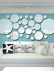 voordelige -Decoratieve Muurstickers - Spiegel muurstickers 3D Woonkamer / Slaapkamer / Keuken