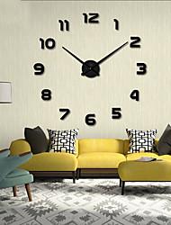 رخيصةأون -لواصق حائط مزخرفة - ملصقات الحائط على المرآة الأحرف / أشكال غرفة الجلوس / داخلي