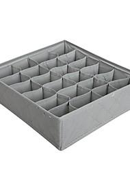 halpa -Muuta nahkaa / Paperi / Nylon Neliskulmainen Luova / Uusi malli / Tyylikäs Koti organisaatio, 1set Säilytyslaukut / Vaatekaapin järjestäjät / Säilytyshyllyt