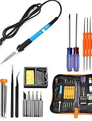 Недорогие -Электрический паяльник 60 Вт набор инструментов для пайки