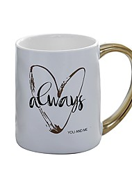 cheap -Drinkware Mugs&Cups Porcelain Cartoon / Boyfriend Gift / Girlfriend Gift Casual / Daily