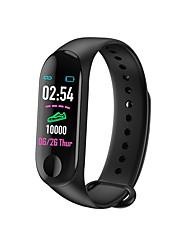 cheap -Men's Digital Watch Digital Rubber Black / Blue / Red 30 m Water Resistant / Waterproof Smart Calendar / date / day Digital Outdoor Fashion - Black Dark Blue Red