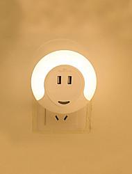 Недорогие -1шт Настенный светильник Тёплый белый DC Powered Для детей / С портом USB / Управление освещением 220-240 V