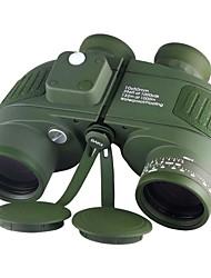 Недорогие -Boshile 10 X 50 mm Бинокль Линзы Водонепроницаемый Крыша Призма Ночное видение в условиях низкой освещенности Полное многослойное покрытие BAK4 Ночное видение Металл / IPX-7 / Да
