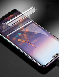 Недорогие -HuaweiScreen ProtectorHuawei P20 HD Защитная пленка для экрана 1 ед. TPG Hydrogel