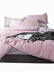 preiswerte -Bettbezug-Sets Luxus / Stripes / Ripples / Zeitgenössisch Polyester Bedruckt 4 StückBedding Sets