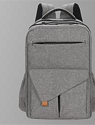 저렴한 -캔버스 한 색상 기저귀 가방 지퍼 한 색상 퓨샤 / 다크 그레이 / 스카이 블루