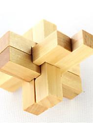 ราคาถูก -ปริศนาไม้ Logic & Puzzle Toys รูปแบบทางเรขาคณิต ของเล่นแปลก ๆ ทำด้วยไม้ 1 pcs ผู้ใหญ่ ของเด็ก Toy ของขวัญ