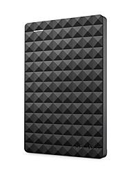Недорогие -Seagate 2.5 портативный 1 ТБ HDD внешний жесткий диск 1 ТБ / 500 ГБ / 2 ТБ / 4 ТБ USB 3.0 черный жесткий диск для компьютера ноутбука