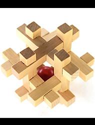 ราคาถูก -Logic & Puzzle Toys ของเล่นแปลก ๆ ของเล่นที่บีบอัด ทำด้วยไม้ 1 pcs สำหรับเด็ก ผู้ใหญ่ ทั้งหมด Toy ของขวัญ