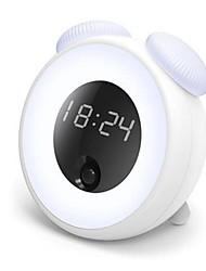 Недорогие -1шт будильник Умный ночной свет Тёплый белый DC Powered Smart / Датчик человеческого тела 5 V