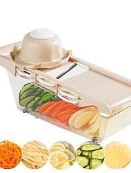 Недорогие -Картофельный ломтик овощерезка для овощей солома с лезвием из нержавеющей стали