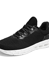 cheap -Men's Comfort Shoes Mesh Spring & Summer Casual Athletic Shoes Running Shoes Breathable Gray / Red / Blue
