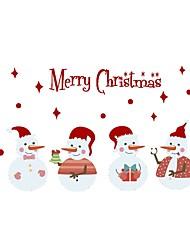 Недорогие -Декоративные наклейки на стены - Праздник стены стикеры Рождество / Праздник Столовая / В помещении