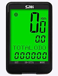 Недорогие -SunDing SD-577A Датчик модуляций скорости Водонепроницаемость Компактность Велоспорт Велосипеды для активного отдыха Односкоростной велосипед Велоспорт