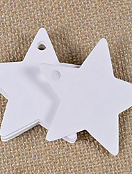 voordelige -Holiday Decorations Kerstversieringen Kerstversieringen Decoratief Wit / Zwart / Bruin 50st / 1pc