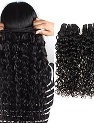 abordables -Lot de 6 Cheveux Indiens Ondulation Cheveux Naturel Rémy Tissages de cheveux humains Bundle cheveux One Pack Solution 8-28 pouce Couleur naturelle Tissages de cheveux humains Faciliter l'habillage