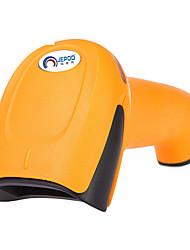 Недорогие -JEPOD JP-A3 Сканер штрих-кода Переносной сканер Беспроводная 2.4G Свет лазера 300 DPI