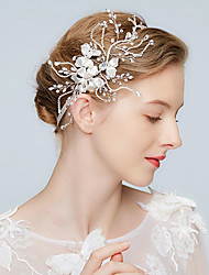 ราคาถูก -โลหะผสม headbands กับ หินประกาย 1 ชิ้น งานแต่งงาน / งานปาร์ตี้ / งานราตรี หูฟัง