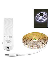 Недорогие -Новинка беспроводной датчик движения pir светодиодные лампы 3 м 5 В usb светодиодные полосы лампы кухонный шкаф спальня ночник освещение украшения