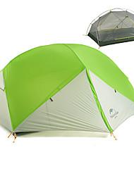 Недорогие -Naturehike 2 человека Туристические палатки На открытом воздухе Компактность С защитой от ветра Дожденепроницаемый Двухслойные зонты Палатка >3000 mm для Пешеходный туризм Походы Путешествия