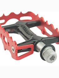 Недорогие -Горный велосипед педали Плоские педали и платформы Герметичный подшипник Противозаносный Прочный 3 Подшипники Aluminum Alloy для Велоспорт
